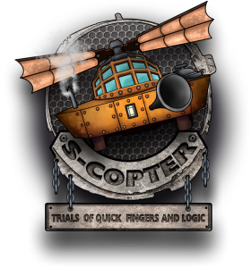 S-COPTER: Trials of Quick Fingers and Logic logo