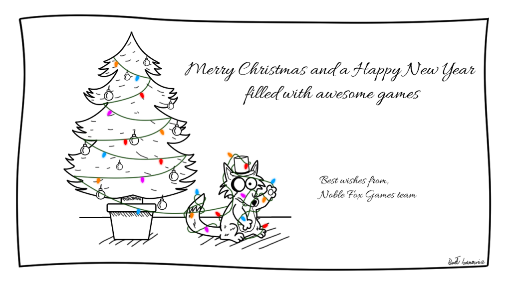 Merry Christmas from Noble Fox Games